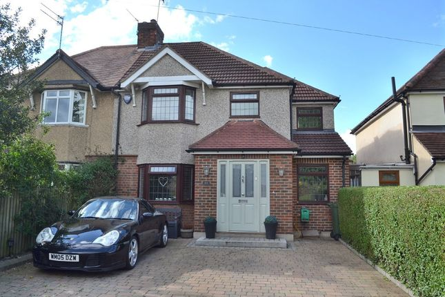 Thumbnail Semi-detached house to rent in Garston Crescent, Watford