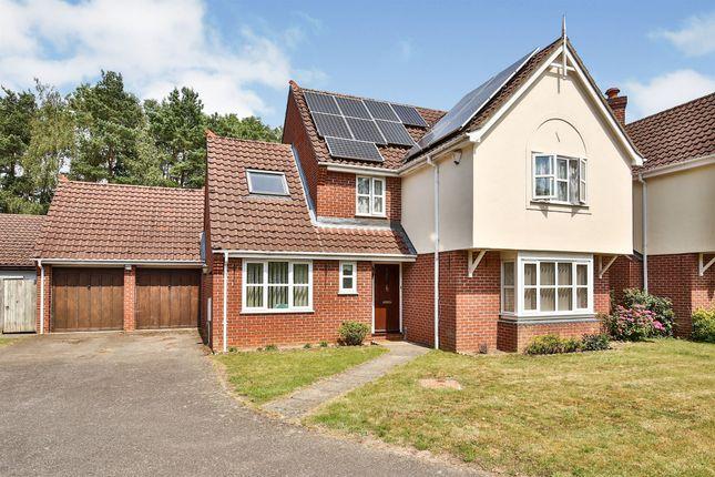 Thumbnail Detached house for sale in Jordan Close, Taverham, Norwich