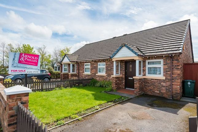 Thumbnail Semi-detached bungalow for sale in Lady Anne Close, Scarisbrick, Ormskirk