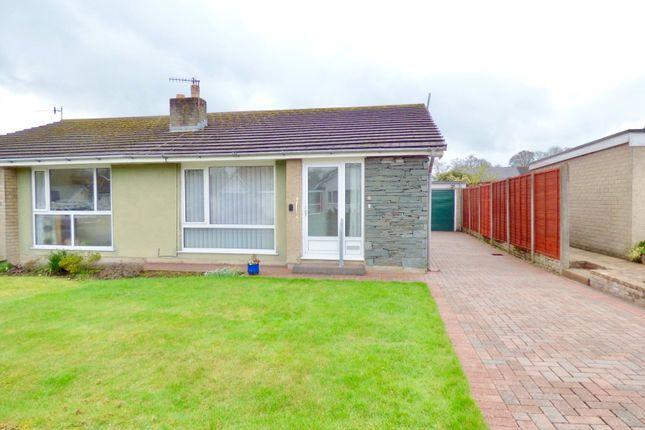 Thumbnail Semi-detached bungalow for sale in Kent Park Avenue, Kendal, Cumbria
