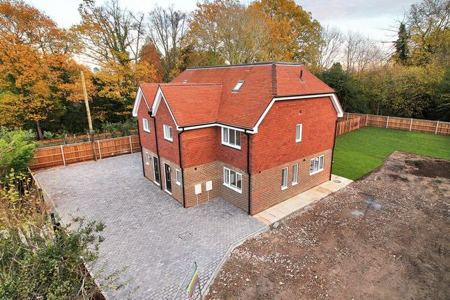 Thumbnail Semi-detached house for sale in Turners Hill Road, Crawley Down, West Sussex