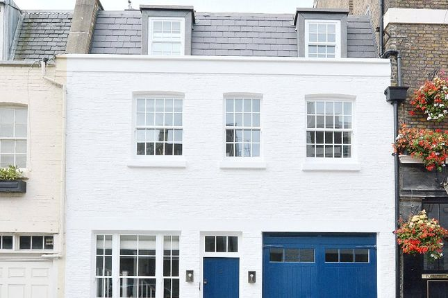 Thumbnail Terraced house for sale in Belgrave Mews West, Belgravia, London