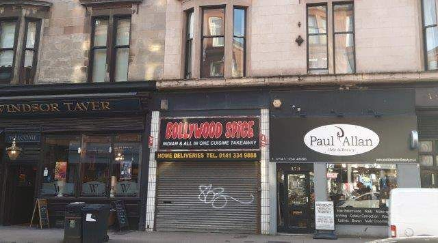 Thumbnail Retail premises for sale in Sunlight Cottages, Dumbarton Road, Glasgow