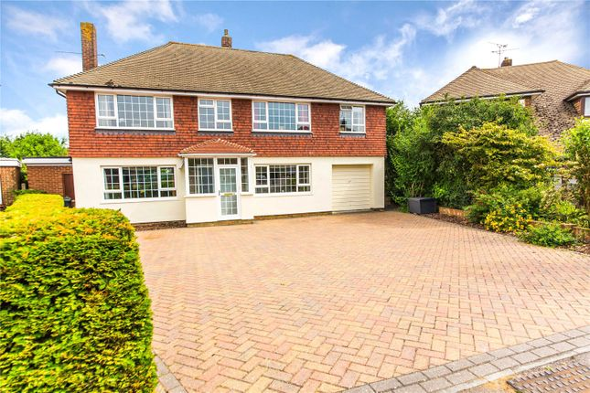 Thumbnail Detached house for sale in Colewood Drive, Higham, Kent