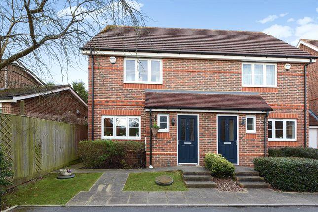 Thumbnail Semi-detached house to rent in Locksley Gardens, Winnersh, Berkshire