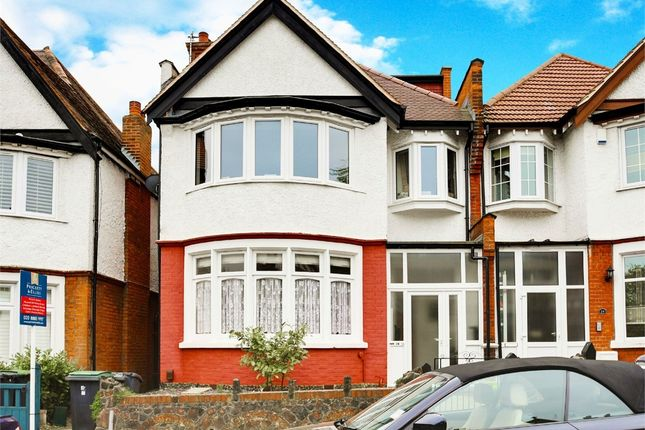 Thumbnail Flat for sale in Woodberry Crescent, Muswell Hill, London