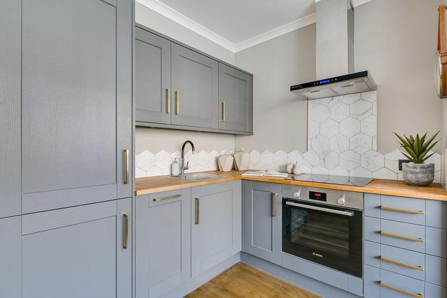 Thumbnail Flat for sale in Samos Road, London