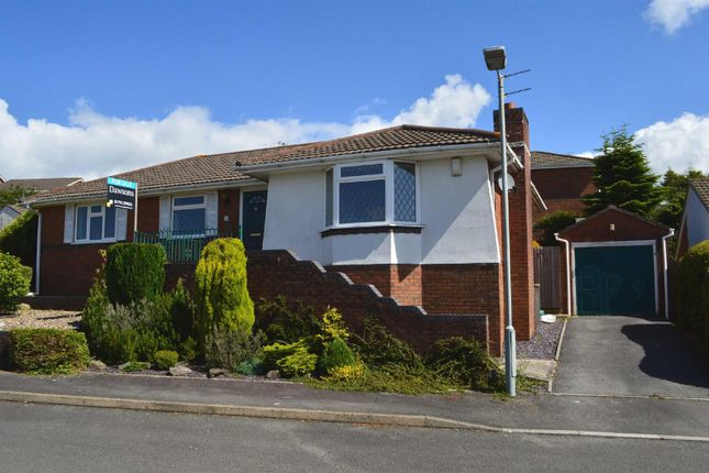 Thumbnail Detached bungalow for sale in Heol Ysgawen, Sketty, Swansea