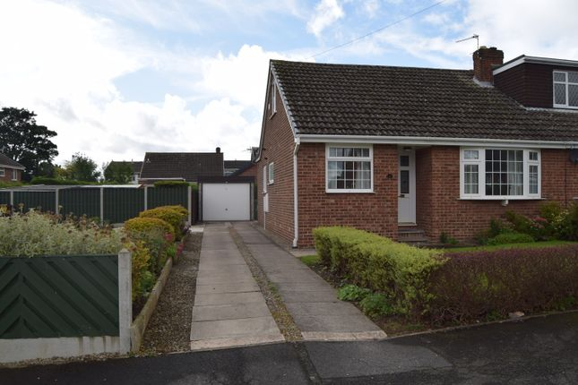 Thumbnail Semi-detached bungalow to rent in Manor Close, Ossett