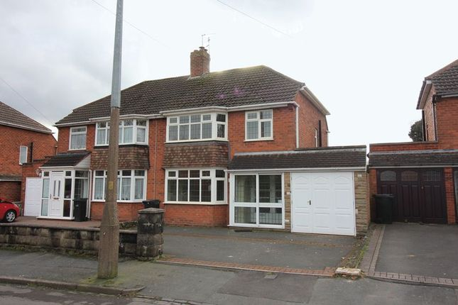 Thumbnail Semi-detached house for sale in Woodfield Avenue, Pensnett, Brierley Hill