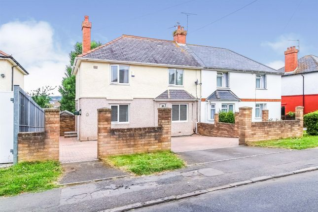 3 bed semi-detached house for sale in Caradoc Avenue, Barry CF63