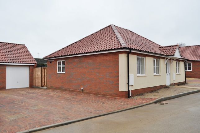 Thumbnail Bungalow to rent in Cooper Row, Brundall, Norwich, Norfolk