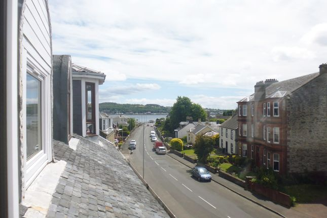 View From Lounge of Flat 2/2, 74, Ardbeg Road, Rothesay, Isle Of Bute PA20