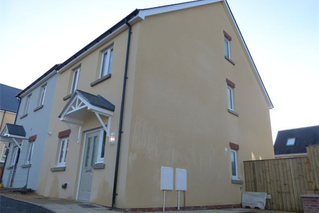 Thumbnail Semi-detached house for sale in 5 Maes Yr Orsaf (The Cilgerran), Plot 5, Station Road, Narberth