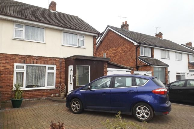 Thumbnail Semi-detached house for sale in Queens Road, Vicars Cross, Chester, Cheshire