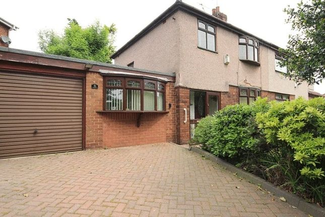 Thumbnail Semi-detached house for sale in Oakhill Park, Old Swan, Liverpool
