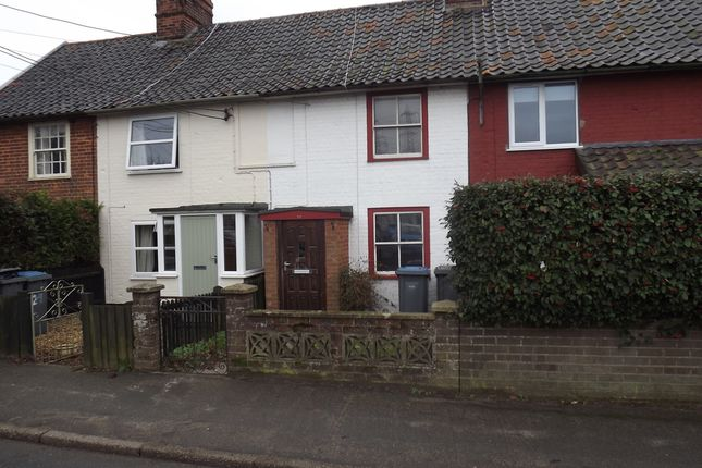 Thumbnail Terraced house to rent in Leiston Road, Knodishall