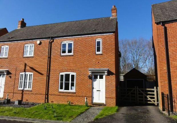 Thumbnail Semi-detached house to rent in Lady Somerset Drive, Ledbury