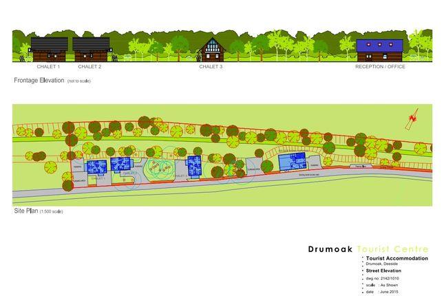 Thumbnail Detached house for sale in Linardon And Drumoak Tourist Centre, Drumoak, Banchory, Kincardineshire