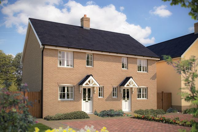 """Thumbnail Semi-detached house for sale in """"The Marston"""" at Bannold Drove, Waterbeach, Cambridge"""