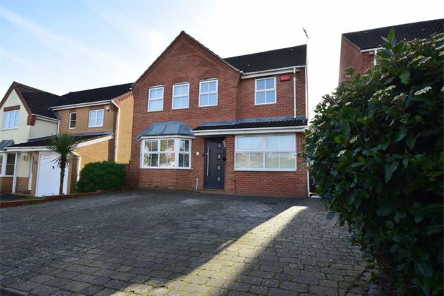 Thumbnail Detached house for sale in Sparrow Drive, Stevenage, Hertfordshire