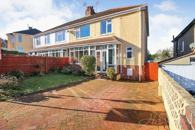 Thumbnail Semi-detached house for sale in Oak Park Avenue, Shiphay, Torquay