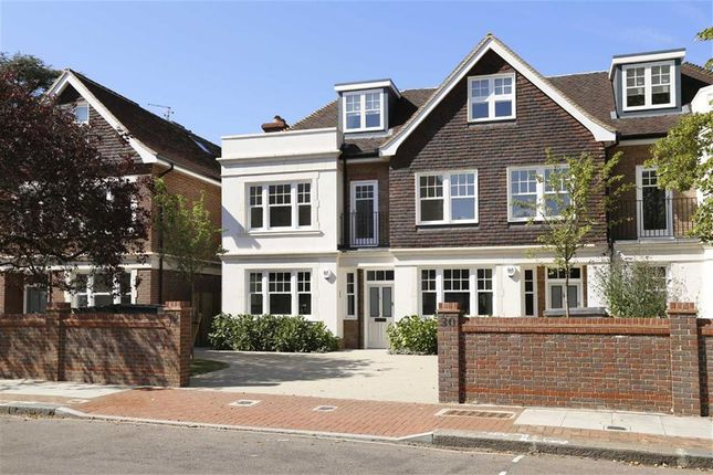 Thumbnail End terrace house for sale in Dover Park Drive, Putney