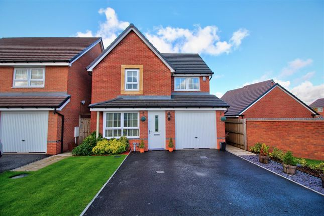 Thumbnail Detached house for sale in Wright Close, Burntwood