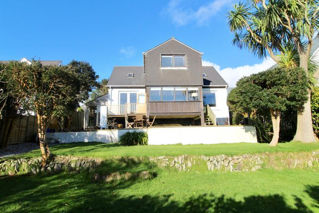 Thumbnail Detached house for sale in Helston Road, Germoe, Penzance