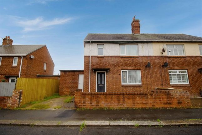 Semi-detached house for sale in Spital Road, Newbiggin-By-The-Sea, Northumberland