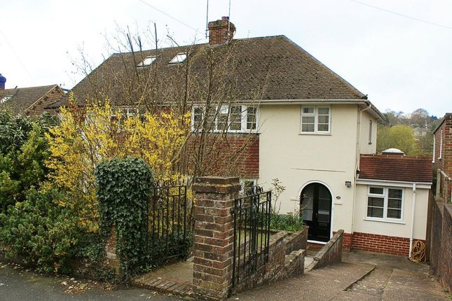 Thumbnail Semi-detached house to rent in Fitzjohns Road, Lewes