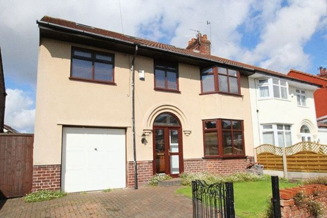 Thumbnail Semi-detached house for sale in Cranford Road, Grassendale, Liverpool