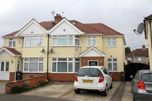 Thumbnail Semi-detached house for sale in Iverna Gardens, Feltham, Middlesex