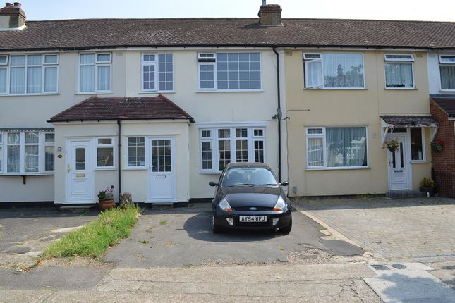Thumbnail Terraced house to rent in Beechwood Gardens, Rainham