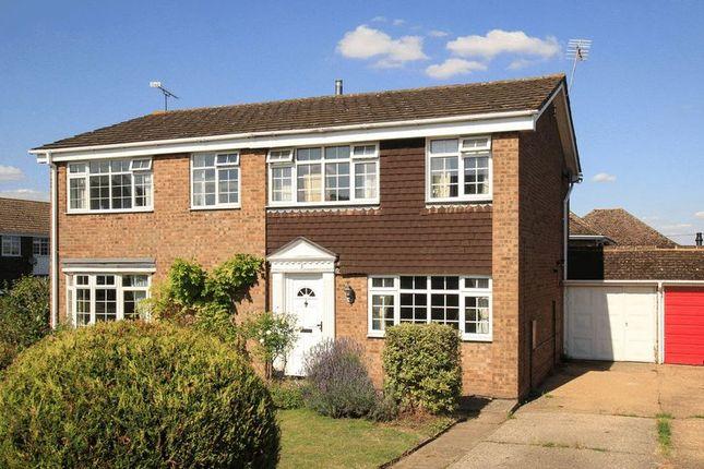 Thumbnail Semi-detached house for sale in Manor Pound Road, Cheddington, Leighton Buzzard
