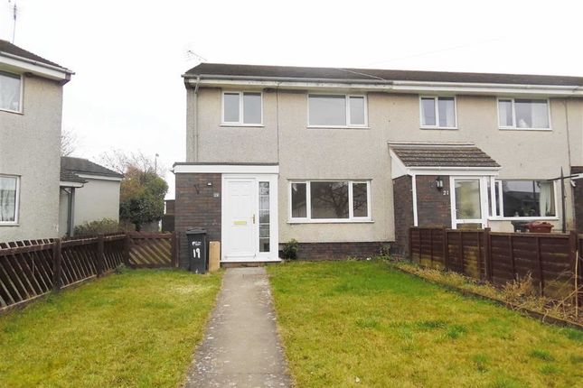 Thumbnail End terrace house to rent in Cae Delyn, Caerwys, Flintshire