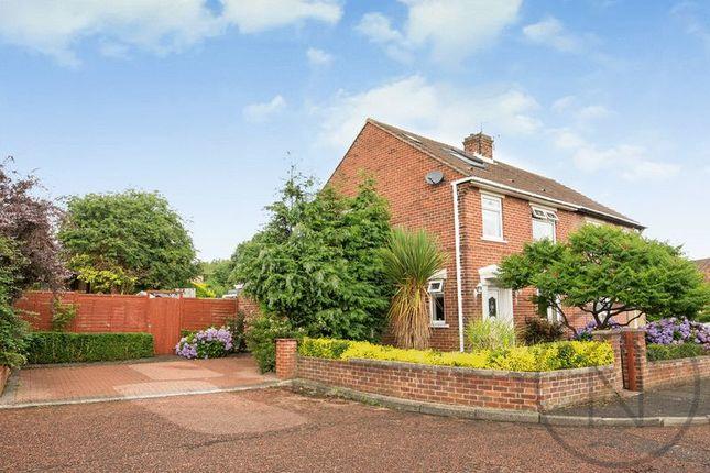 Thumbnail Semi-detached house for sale in Hadrian Gardens, Blaydon-On-Tyne