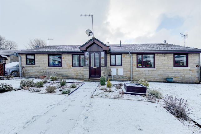 Thumbnail Terraced bungalow to rent in Western Court, Stacksteads, Bacup, Rossendale