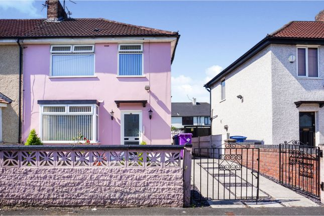 Thumbnail End terrace house for sale in Winskill Road, Liverpool