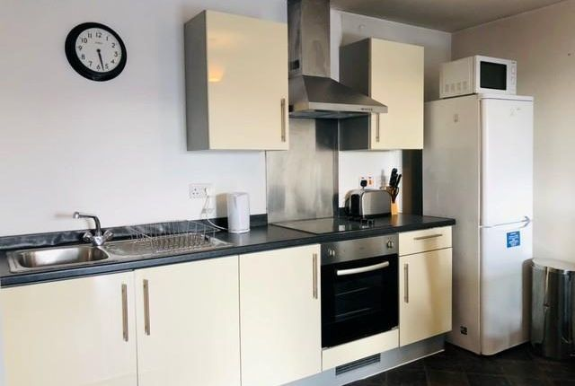 Kitchen of The Quantum, Chapeltown Street, Manchester M1