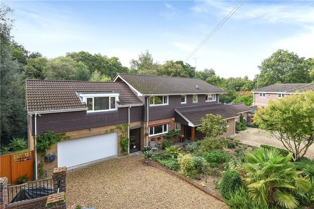 Thumbnail Detached House For Sale In Cricket Hill Lane Yateley Hampshire