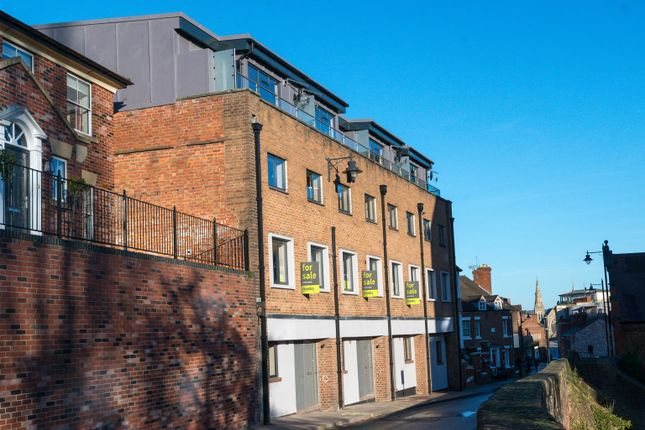 Thumbnail Town house for sale in 3 Beechwood House, Town Walls, Shrewsbury
