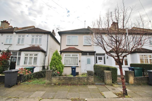 Thumbnail End terrace house for sale in Falkland Avenue, New Southgate, London N111Js