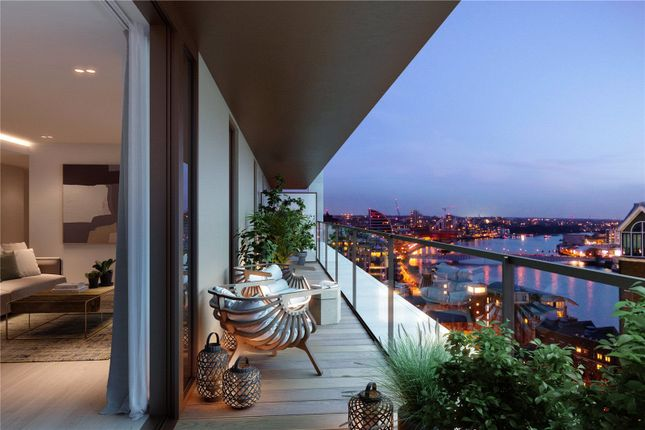 Balcony of Coda, 198 York Road, London SW11
