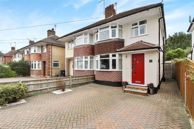 Thumbnail Semi-detached house for sale in Horsell, Woking, Surrey