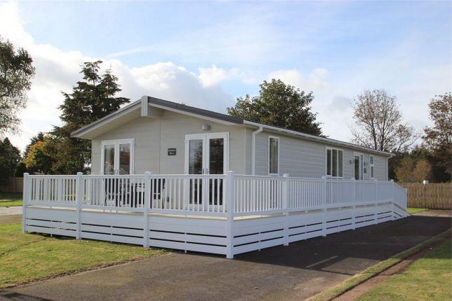 Thumbnail Mobile/park home for sale in Grosvenor Park, Riverview Residential Park, Mundole, Forres, Moray