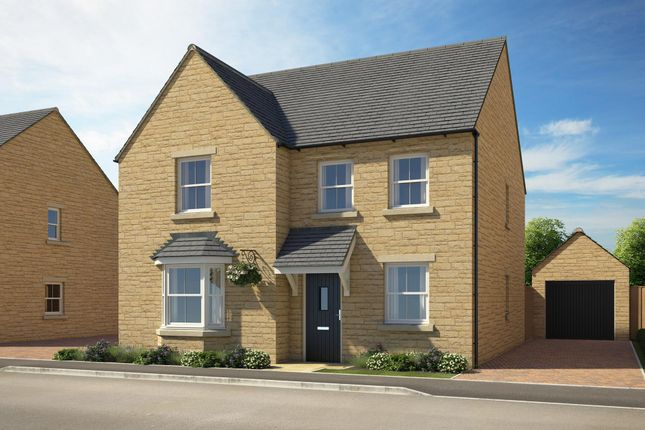 "Thumbnail Detached house for sale in ""Holden"" at Popes Piece, Burford Road, Witney"