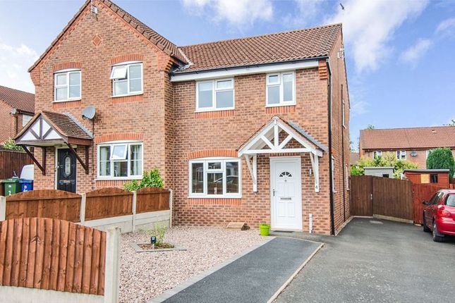 2 bed semi-detached house to rent in Ravenhill Close, Brereton, Rugeley WS15