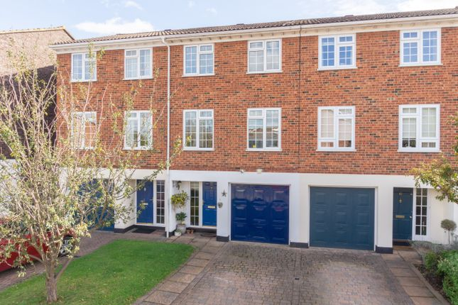Thumbnail Town house for sale in Riversdell Close, Chertsey