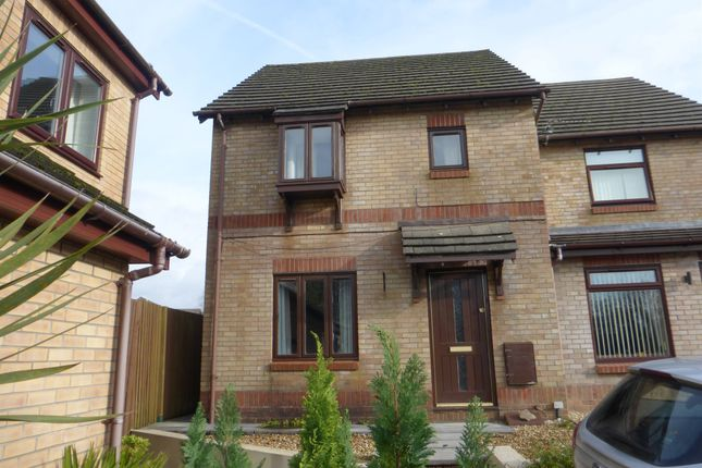 Thumbnail Terraced house for sale in Manor Chase, Beddau, Pontypridd
